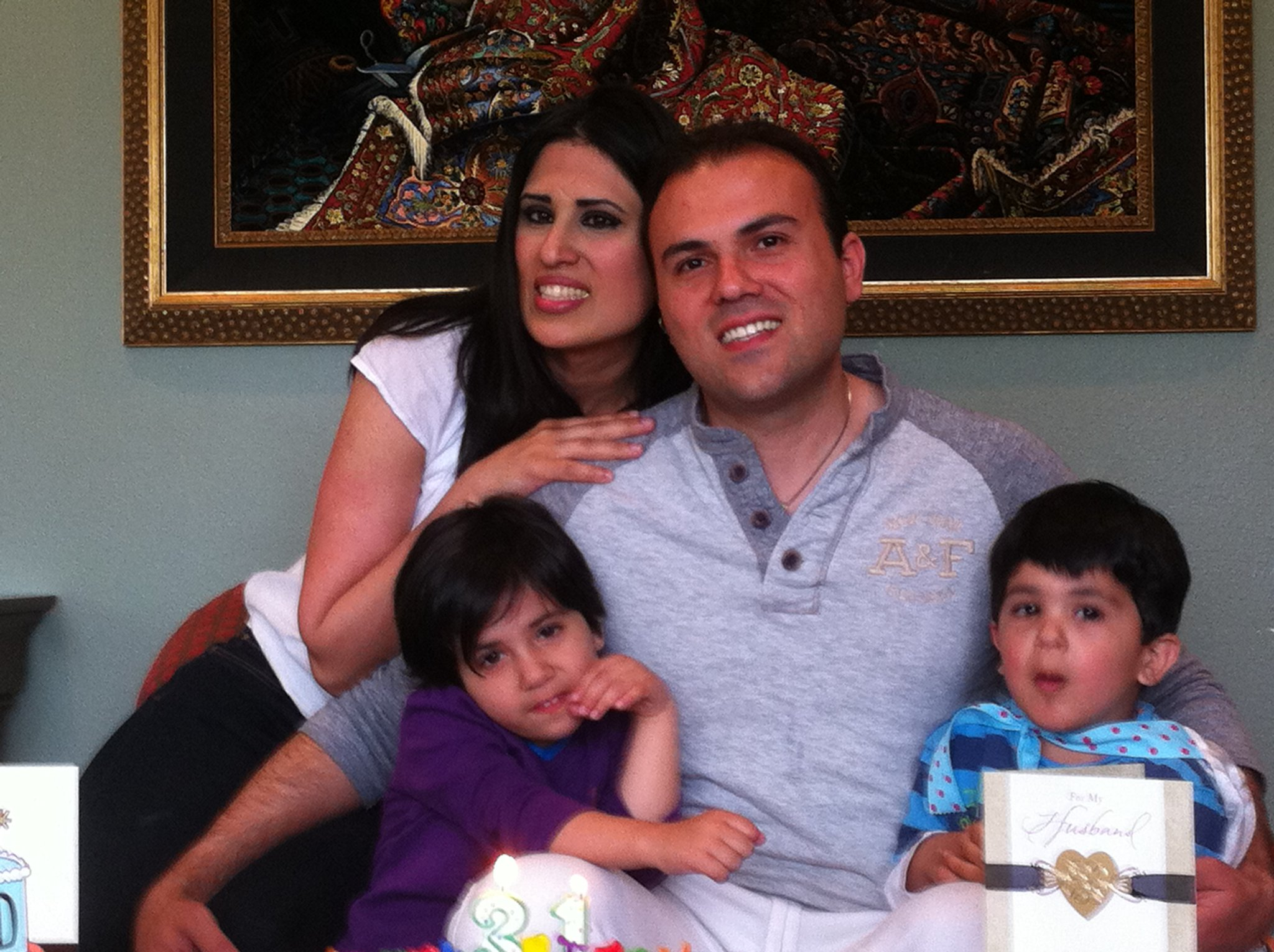 Christian Pastor Saeed Abedini and family
