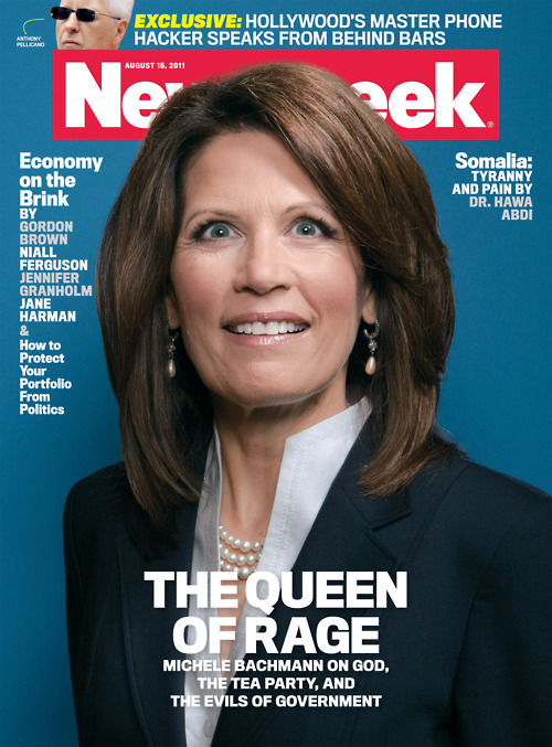 NewsWeek Cover on Michele Bachmann