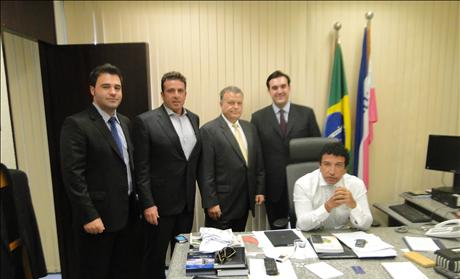 Jordan Sekulow with Senator Malta in Brazil