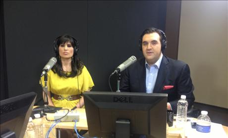 Pastor Saeed's wife Naghmeh on Sekulow live
