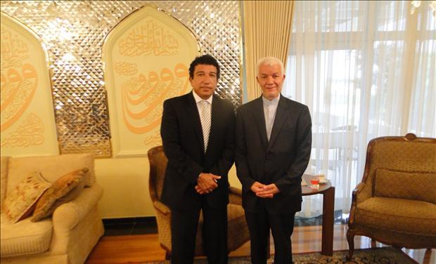 Senator Magno Malta with Iranian Ambassador