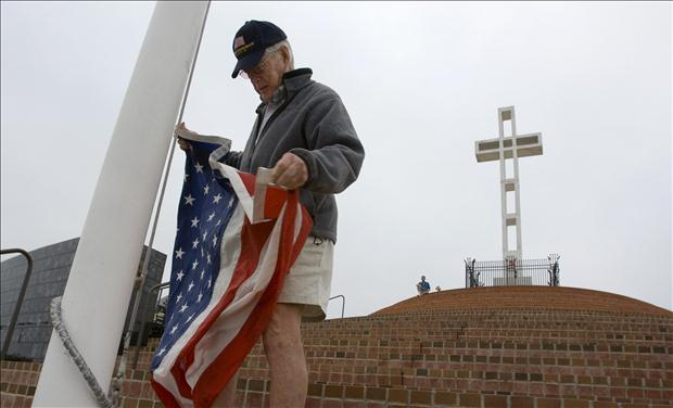 Mt. Soledad Veterans Memorial, San Diego, CA. Photo via Jay Sekulow, ACLJ