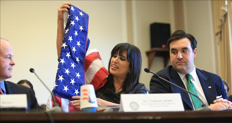 Pastor Saeed's wife Naghmeh testifies before Congress