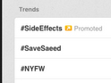 SaveSaeed Hashtag